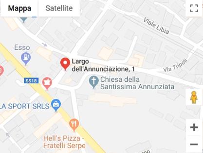 Mappa Museo Civico SS Trinita' - Torre del Greco - NA